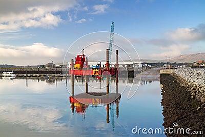 Sea platform in Dingle