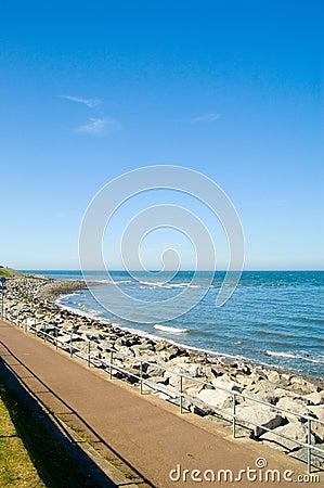 Sea and promenade