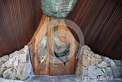 Sea Ranch Chapel front door