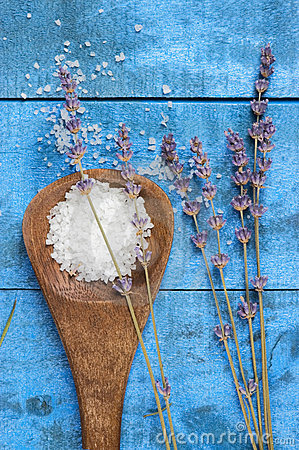 Sea salt with lavender