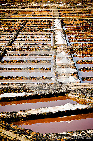 Sea salt natural production