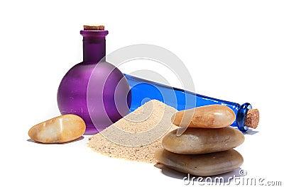 Sea sand and stones