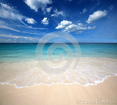 Sea sand sun beach blue sky thailand landscape nature viewpoint