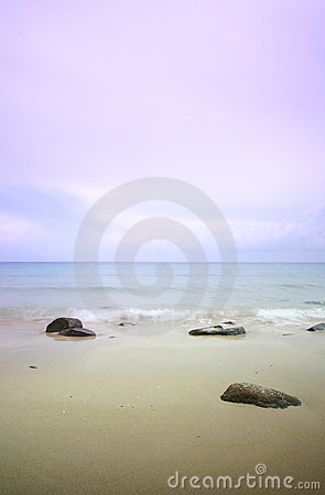 Free Sea Scape At Dawn Royalty Free Stock Photos - 5472848