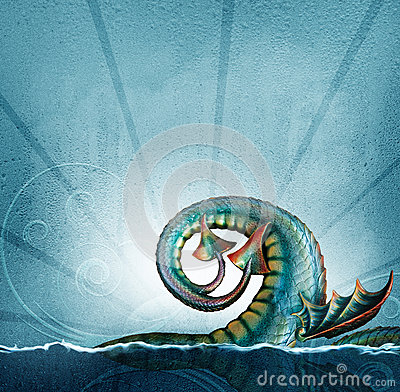 Sea serpent tail