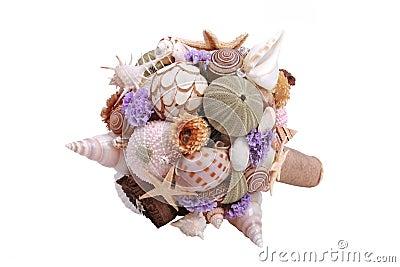 Sea shell boquet