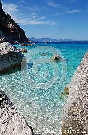 Sea-shore (Cala Goloritze)