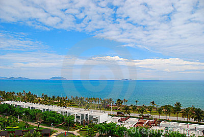 The sea and sky of Sanya 1(Hainan,China)