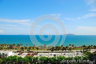 The sea and sky of Sanya 2(Hainan,China)