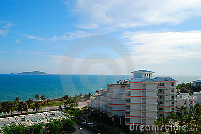 The sea and sky of Sanya 4(Hainan,China)