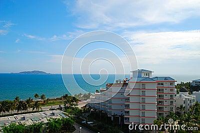 The sea and sky of Sanya 4(Hainan,China)