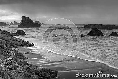 Sea Spires along Oregon Coast