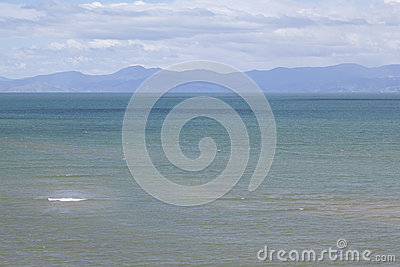 Sea in the Tasman Bay New Zealand