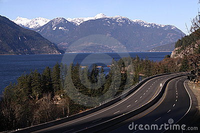 Sea to Sky Highway, Howe Sound