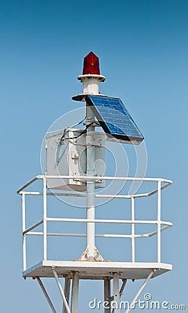 Sea transportation alarm light