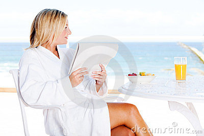 Sea view breakfast