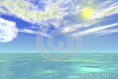 Sea view of Eden