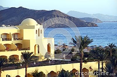 Sea view hotel Egypt