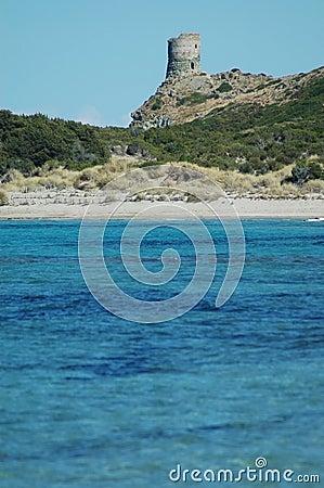 Sea view and tour d Agnello, Corsica