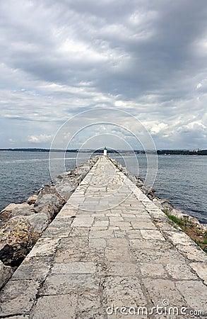 Free Sea Wall Royalty Free Stock Image - 11801396