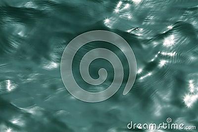 Sea water.