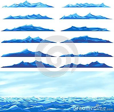 Free Sea Waves Royalty Free Stock Image - 9118846