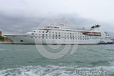 Seaburn Spirit Luxury Boat Editorial Stock Photo