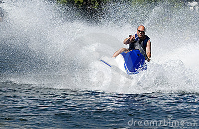 Seadoo in action