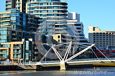 Seafarers Bridge - Melbourne Editorial Photography