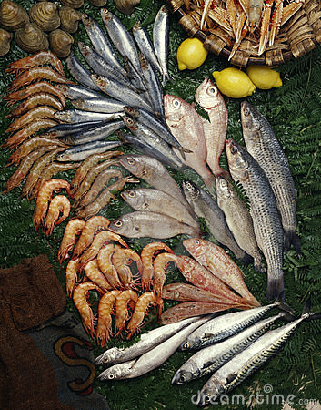 Seafood composition