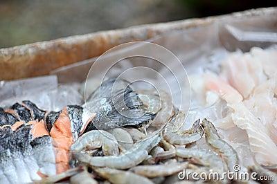 Seafood cuts