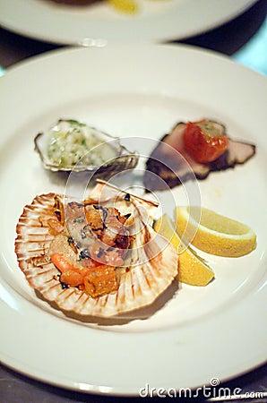 Seafood Entr�e