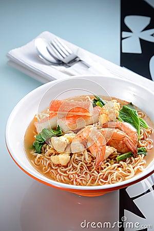 Seafood Instant Noodle