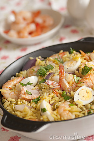 Seafood kedgeree