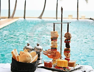 Seafood & Meats Brochettes