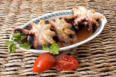 Seafood - Octopus