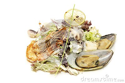 Seafood Salad Stock Photo - Image: 24701470