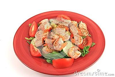 Seafood Salad Feast
