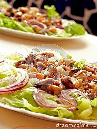 Free Seafood Salat Royalty Free Stock Photos - 6752978