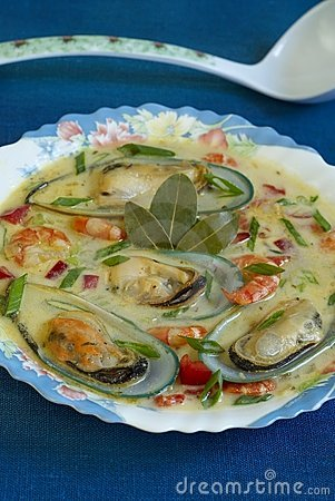 Free Seafood Soup Royalty Free Stock Photography - 10591527
