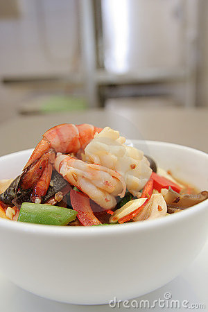 Seafood vegetable