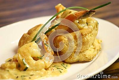 Seafood Vol au Vent