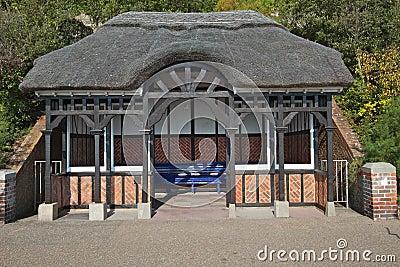 Seafront shelter, Eastbourne