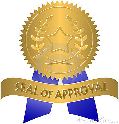 Free Seal Of Approval/eps Stock Photo - 3180870