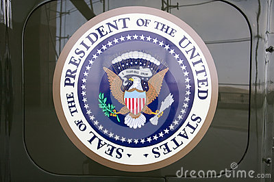 Seal of the President of the United States Editorial Stock Image