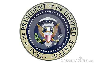 Seal of the President of the United States Editorial Stock Photo
