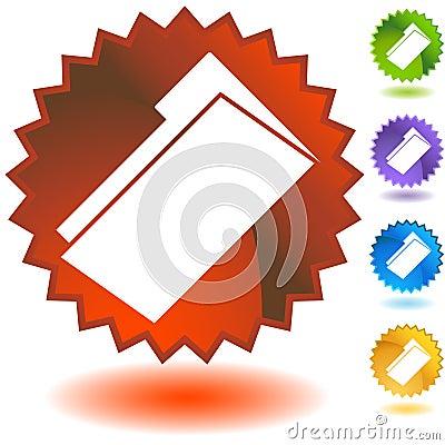 Free Seal Set - Document Folder Royalty Free Stock Photo - 10120835