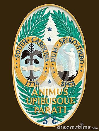Seal of State South Carolina