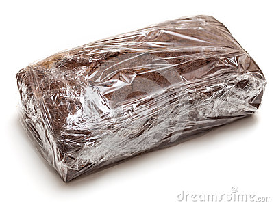 Sealed chocolate loaf