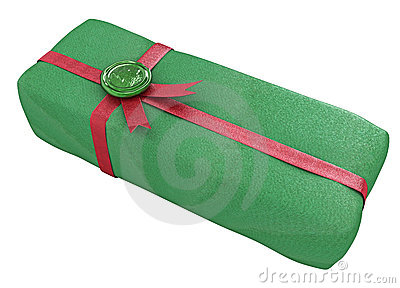 Sealed Gift, Green